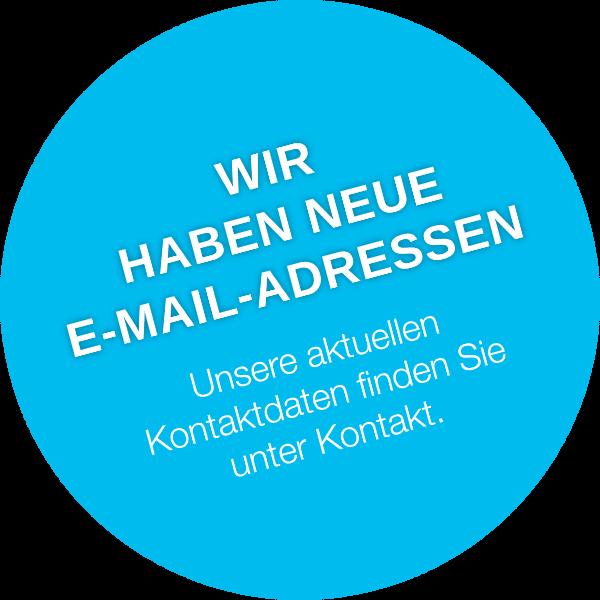 Eneotech-Neue E-Mail Adressen